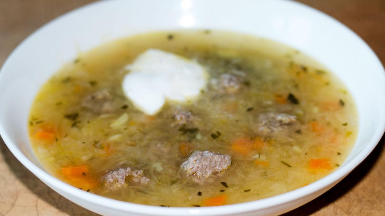 суп с фрикадельками с капустой рецепт пошагово с фото