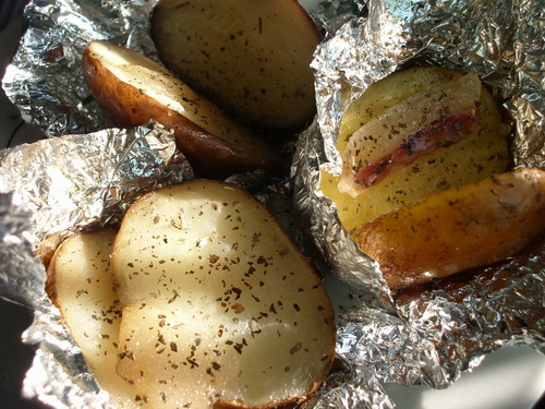 Картофель с салом