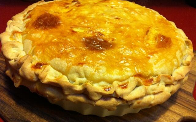 Пирог из овощей