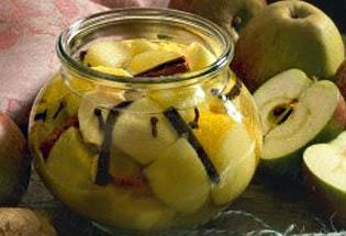 Маринованные медовые яблоки