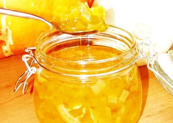 Варенье из кабачков с лимонами и апельсинами
